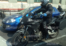 Yamaha MT-07 Crossover 2016: Spy photo