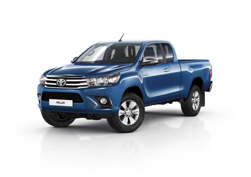 Toyota Hilux Pick-up 2.D-4D 4WD porte Double Cab Comfort (5)