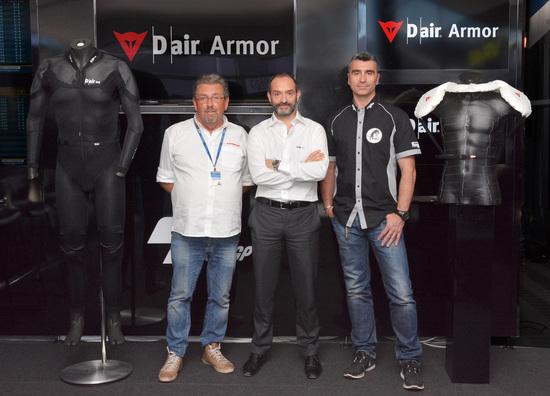 Dainese presenta il D-air Armor
