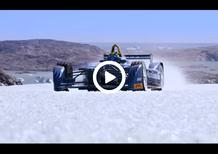 Formula E, di Grassi in azione sulla calotta glaciale artica [Video]