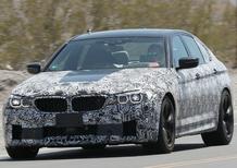 Nuova BMW Serie 5: prime immagini degli interni