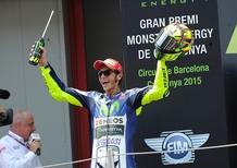 MotoGP 2015, Barcellona. Rossi: Sembravo l'asino con la carota