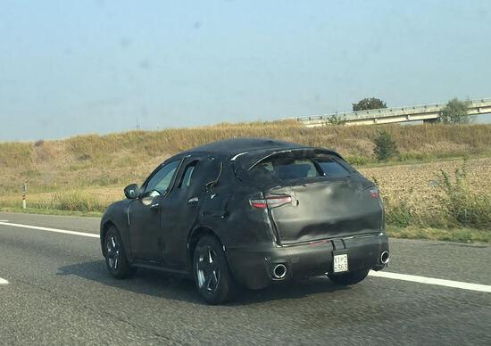 Alfa Romeo Stelvio: l'abbiamo spiato in autostrada!