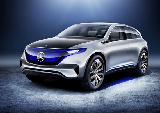 Mercedes Generation EQ, concept elettrica da 402 CV al Salone di Parigi 2016