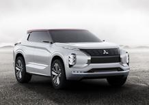 Mitsubishi GT-PHEV concept, debutto al Salone di Parigi 2016 [Video]