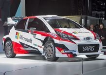 Salone di Parigi 2016: ecco la nuova Toyota Yaris WRC Plus 2017