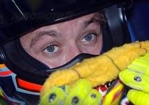 Valentino Rossi in Subaru