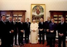 Ferraristi dal Papa