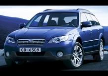 Subaru Legacy restyling