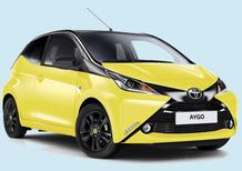 Toyota Aygo X-cite Yellow: nuovo allestimento a listino