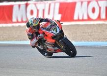 SBK. GP di Spagna, Gara1. La versione di Baldi
