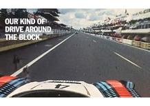 Porsche: Racing. Not posing