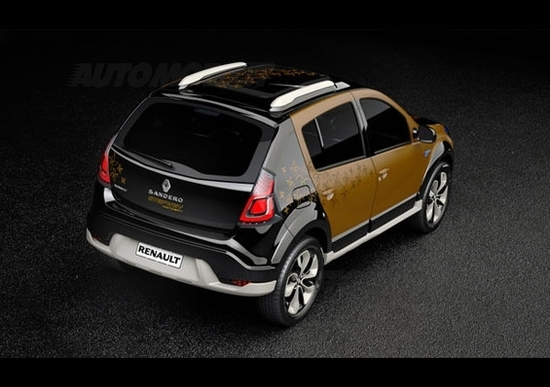dacia sandero stepway concept news. Black Bedroom Furniture Sets. Home Design Ideas