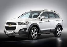 Nuova Chevrolet Captiva restyling: da 28.100 euro