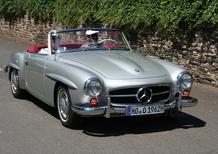 Nuova Mercedes SLK: le origini nella 190 SL