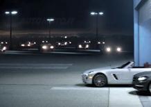 Mercedes SLS AMG Roadster - debutta al Super Bowl