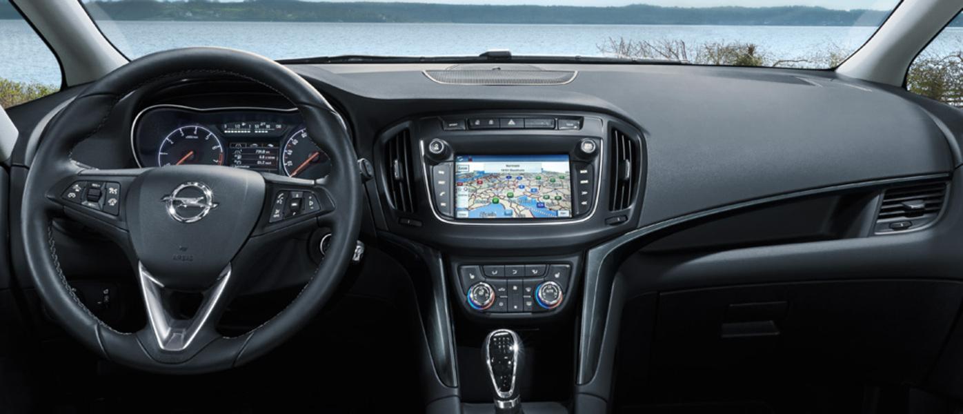 Opel zafira catalogo e listino prezzi opel zafira for Interieur zafira b