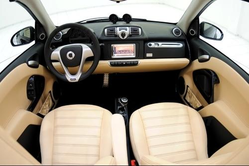 Smart cabrio brabus la bleue news for Idea casa sarno