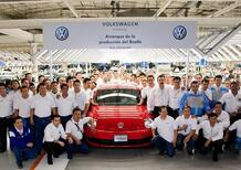 Volkswagen: avviata in Messico la produzione della nuova Beetle