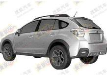 Subaru Impreza XV: il brevetto la svela