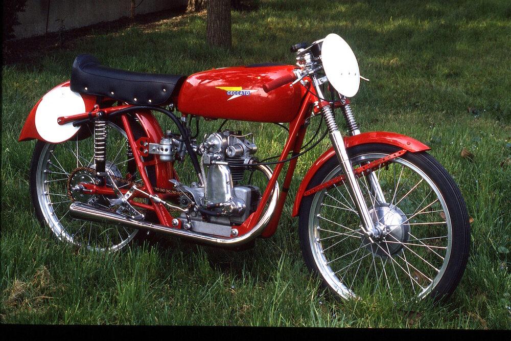 Il Ceccato 75 aveva un motore monoalbero che l'ing. Fabio Taglioni aveva progettato prima ancora che iniziasse la sua collaborazione con la casa veneta. La distribuzione era monoalbero con comando a ingranaggi