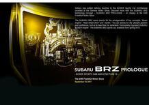 Subaru BRZ: appuntamento a Francoforte