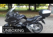 L'unboxing di Matteo: BMW R1200RT