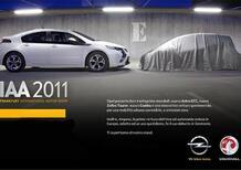 Opel: a Francoforte una nuova city car elettrica