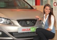 Seat: consegnata una Ibiza a DJ Ylenia