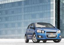 Chevrolet Aveo: promozione ottobre