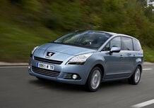 Peugeot 508, 5008 e 807: nuovo listino prezzi allestimenti