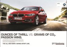 BMW Serie 3: le campagne pubbliciarie