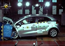 Nuova Kia Rio 5 stelle EuroNCAP