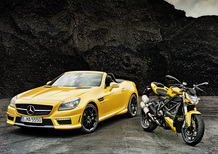 Mercedes-Benz SLK 55 AMG Streetfighter Yellow