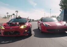Toyota GT4586: la GT86 col V8 della Ferrari 458 [Video]
