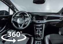 Opel Astra Sports Tourer: scopri gli interni nel video a 360°