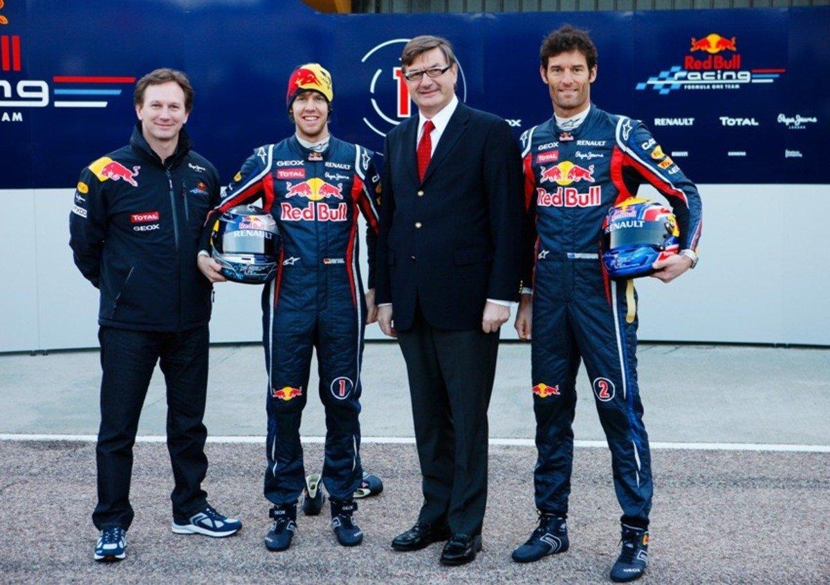 Geox partner di Red Bull Racing nel Campionato F1 2012