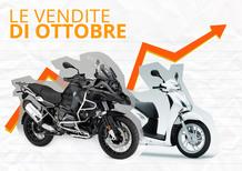 Mercato a ottobre: moto +12,7% ma scooter a -3,5%. Il 2016 vede un +11,5%. Le Top 100