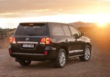 Toyota Land Cruiser Model Year 2012