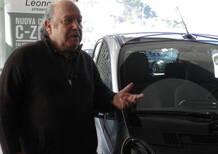 Consegnata a Lino Banfi una Citroen C-Zero