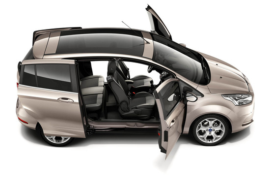 Ford: B-MAX: l'Easy Access Door System