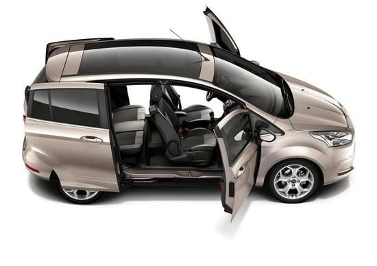 Ford B-Max: listino prezzi