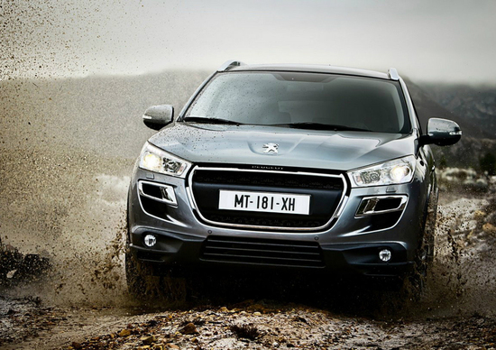 Peugeot 4008: nuove immagini ufficiali