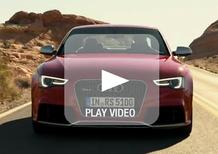 Audi RS5 restyling: i video ufficiali