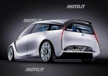 Toyota FT-Bh svelata a Ginevra
