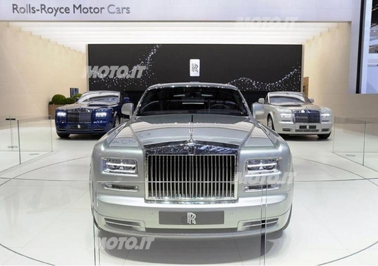 Rolls Royce al Salone di Ginevra 2012