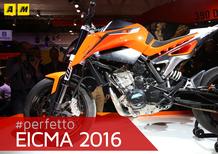 Prototipo KTM Duke 790 a Eicma 2016: Il video