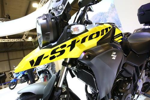 Suzuki V-Strom 250 2017 ad Eicma 2016: foto e dati