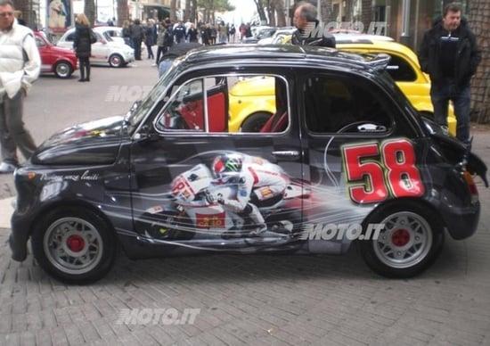 Una Abarth 595 D Epoca Ricorda Marco Simoncelli News Automoto It