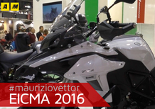 Benelli TRK 502 ad EICMA 2016: video